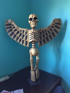 Wooden skeleton angel       #TELUSHelpsMeSell