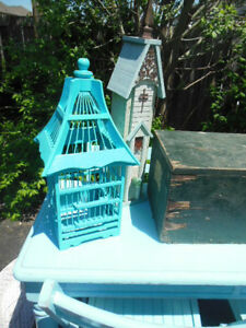 Teal bird cage London Ontario image 3