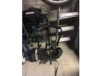 Black golf trolley