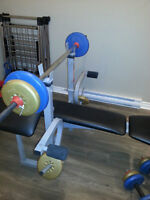 """""""Weider"""" home gym with weights"""