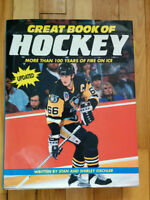used book : Great book of Hockey