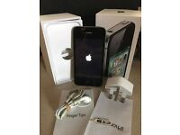 Iphone 4S 32gb unlocked all networks with original box A1cond