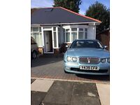 2001 rover 75 in metallic blue nice condition petrol