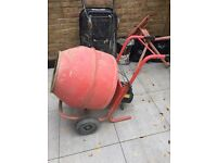 Cement mixer 240v for sale