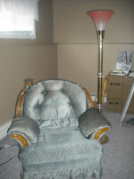 free chair and lamp