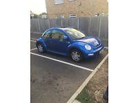 VW beetle 2,0 petrol 12 months mot