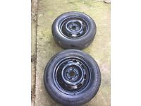 Two marshal tyres new 175/65/r14