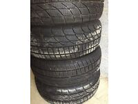 4x winter tyres Goodride 205/55/16 very good condition