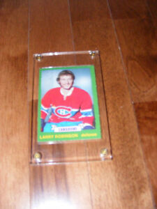 Cartes de hockey Recrue de Larry Robinson.