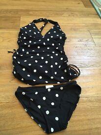 Tankini maternity swimwear