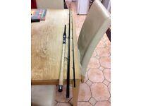 Carp fishing feeder rod