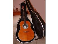 Guitar Electro / Acoustic American Ovation n USA Guitar