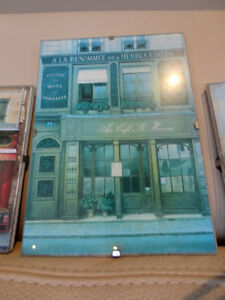 """Set of Three4x6"""" Glass Enclosed Pictures for Bath or Powder Room Kitchener / Waterloo Kitchener Area image 4"""
