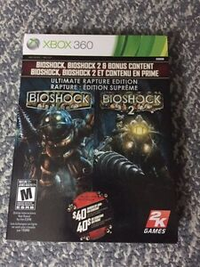 Bioshock 1 and 2 + All DLC for Xbox 360