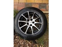 "Rial 16"" alloys from a Mercedes vito 05 reg."