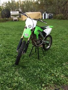 06 kxf250 cash or trade for a sled
