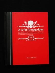 A is for Armageddon - Richard Horne [Hardback] Loganholme Logan Area Preview