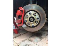 306 GTI brakes. Will fit saxo, 106, GTI6