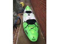 Perception Gemini Scooter 2 person kayak swap