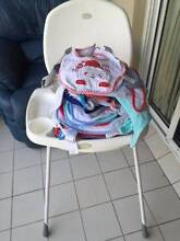 High chair and baby bibs Burleigh Heads Gold Coast South Preview