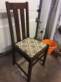 Set of 4 Vintage Chairs **BARGAIN**