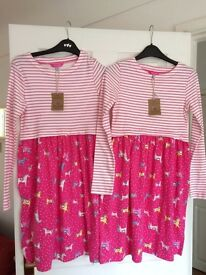 Two NEW Joules dresses with tags 11-12 years