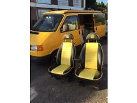VW / fits T4 Seats with bases