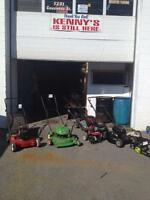 Kenny's small engine repair has moved to new location in orleans