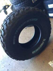 """15"""" STEEL WHEELS & 31 10.5 15 LT GRIPMAX MUD TYRES PACKAGE 4WD Fairlight Manly Area Preview"""