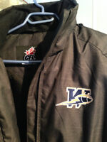 Winnipeg Blue Bombers Lined Reebok Jacket - As New!