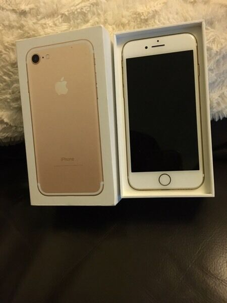 Iphone 7 32gb Gold on o2in Southside, GlasgowGumtree - Hi Im selling a iPhone 32GB on O2 is brand new phone please drop me a text message and I will get back to you. No crazy offer and time waster