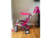 Trike fisher price used once excellent condition