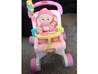 Fisher Price: My First Pram and Doll