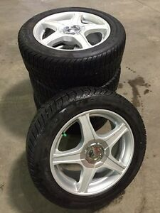 AFTERMARKET WINTER RIMS/TIRES 205/55R16 5x114.3