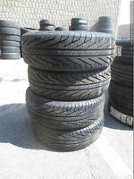 Four Brand New 195 / 65 R15 Michelin HydroEdge All Season tires