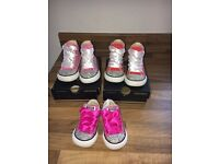 Infant bling converse