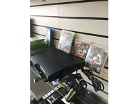 PS3 slim 160gb 3 games mint condition