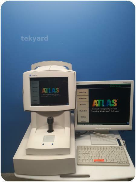 ZEISS HUMPHREY ATLAS ECLIPSE CORNEAL TOPOGRAPHY 995 OPHTHALMIC EYE EXAM SYSTEM %