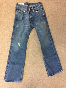 ABERCROMBIE boy jeans size 10, new with tags Cambridge Kitchener Area image 1