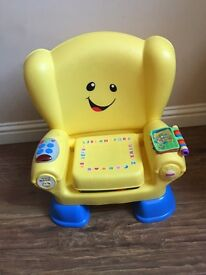 Fisher Price Laugh & Learn Chair (like new)
