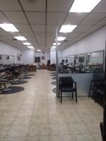 Chair Rent for Hairstylists & Nail Techs & Barbers
