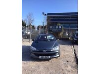 2006 Peugeot 206cc convertible low miles