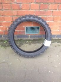 Motorcross motorbike crosser tyre - new unused