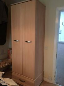 Wardrobe and Chest of Drawers for sale