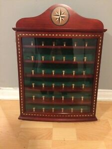 Golf ball display rack