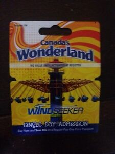 Wonderland day pass