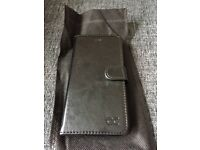 iPhone 6 case black leather