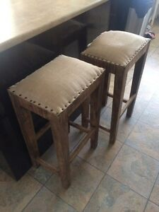 Solid Wood Stools!  Strathcona County Edmonton Area image 1