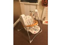 Graco swing seat for sale