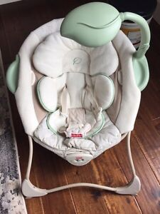 Fisher price baby papasan chair Peterborough Peterborough Area image 1